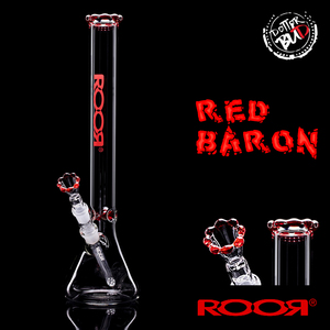 ROOR BONG | RED BARON - BARONE ROSSO