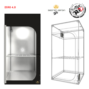 SECRET JARDIN | 90X90X178 DARK STREET DS90 V. 4.0 GROW BOX