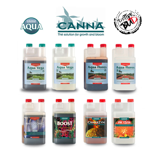 KIT FERTILIZZANTI CANNA 250ML IDROPONICA | AQUA VEGA FLORES COLTIVAZIONE INDOOR