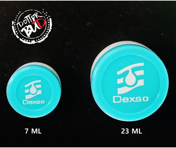 DEXSO - CONTENITORE DI SILICONE ROTONDO 7ML / 23ML BHO WAX DME