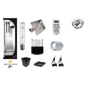 KIT GROW BOX  COMPLETO | 40X40X120H |150W HPS | AGRO | PER AUTOFIORENTI |SMALL