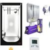 Kit 100x100x200 cmh aurora ventilatore
