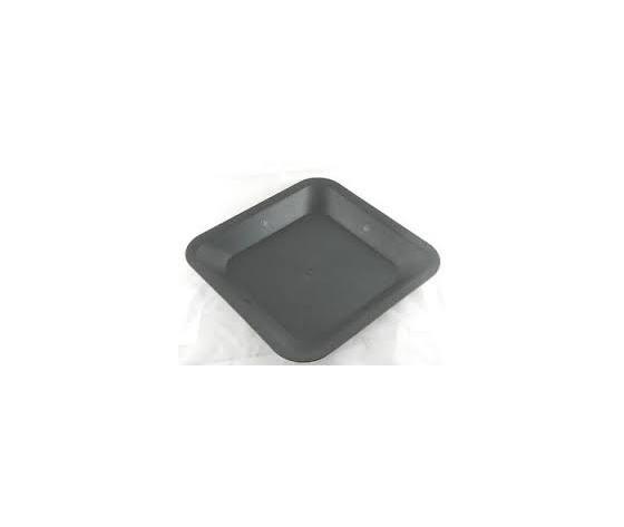 SOTTOVASO QUADRATO IN PLASTICA 30.5X30.5X4 CM (X VASO 18L)