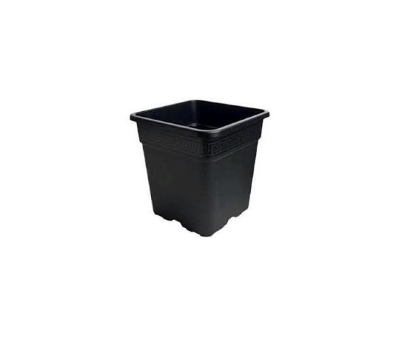 VASO QUADRATO IN PLASTICA 33.5X33.5X33.5 25L