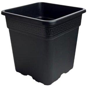 VASO QUADRATO IN PLASTICA 36.5X36.5X36 30 L