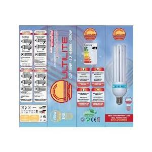 CULTILITE G-SHOCK 125W GROW - LAMPADA CFL BASSO CONSUMO - 6400°K