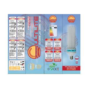 CULTILITE G-SHOCK 200W GROW - LAMPADA CFL BASSO CONSUMO - 6400°K