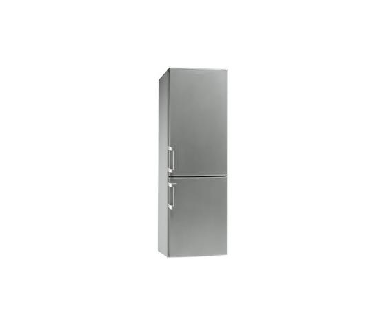 Smeg CF 33 SPNF Frigorifero combinato no-frost classe A+ 355 litri colore silver
