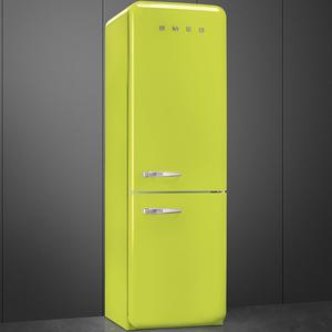 Smeg FAB32RVEN1 Frigorifero combinato anni 50 no-frost classe A++ 323 litri colore verde lime