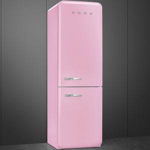 Smeg FAB32RRON1 Frigorifero combinato anni 50 no-frost classe A++ 323 litri colore rosa