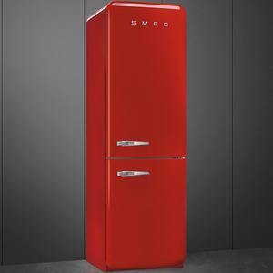 Smeg FAB32RRN1 Frigorifero combinato anni 50 no-frost classe A++ 323 litri colore rosso
