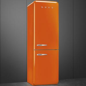 Smeg FAB32RON1 Frigorifero combinato anni 50 no-frost classe A++ 323 litri colore arancione