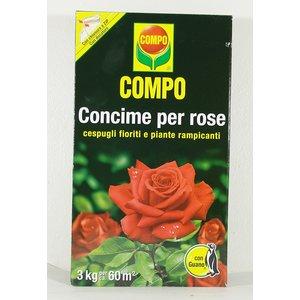 COMPO CONCIME PER ROSE CONFEZIONE DA 3 KG