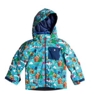 GIACCA SCI BAMBINO QUIKSILVER MISSION MR MEN