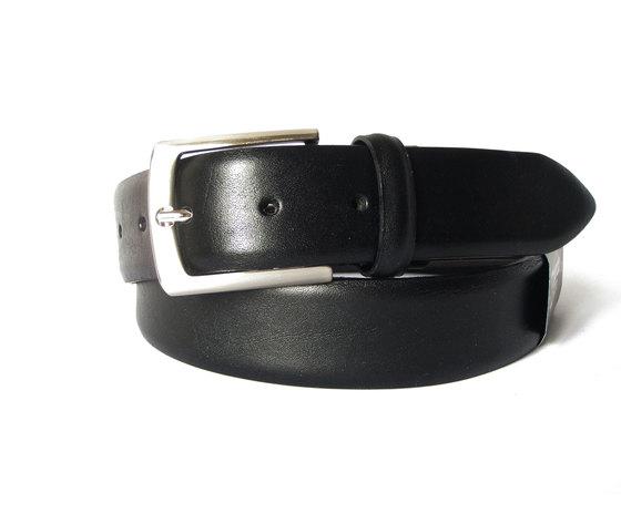 Cintura uomo Edoardo Cincotti in morbida pelle colore nero K17DN