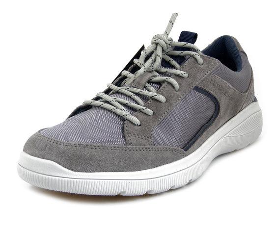 Lumberjack, Scarpe Uomo Sportive Sneaker in Camoscio e Tessuto Grigio, Plantare Estraibile, SM6912