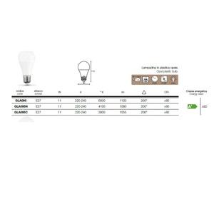 GEA LUCE LAMPADA LED GLA095