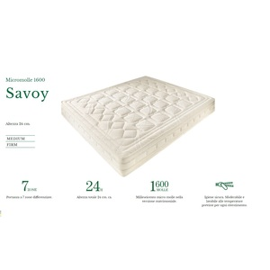 doimo materassi, materasso micromolle 1600, savoy