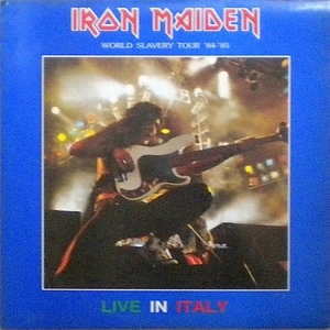 Iron Maiden ‎– Live In Italy 2lp