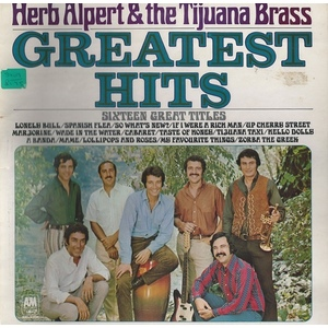 Herb Alpert & The Tijuana Brass ‎– Greatest Hits (Sixteen Great Titles)