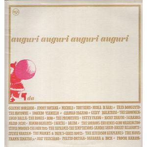 """AA.VV. """" AUGURI DALLA RCA ITALIANA """" LP VINILE EDIZIONE FUORI COMMERCIO 1967 COMPILATION"""
