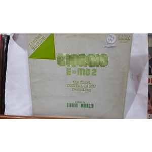 Giorgio* ‎– E=MC² LIMITED EDITION