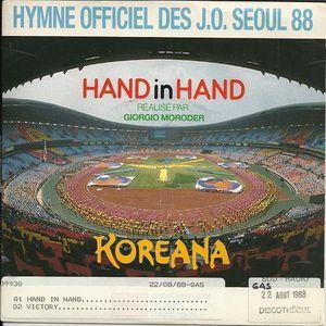 KOREANA  VICTORY - HAND IN HAND