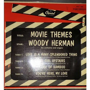 Woody Herman ‎– Movie Themes   Vinyl, 7""