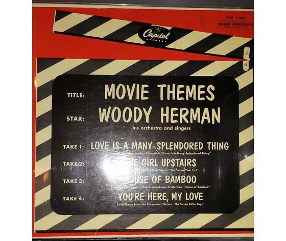 """Woody Herman – Movie Themes   Vinyl, 7"""""""