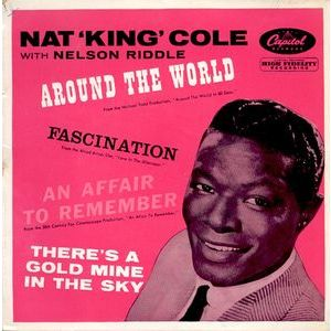 Nat 'King' Cole  With Nelson Riddle ‎– Around The World