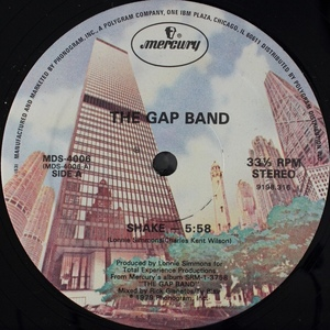 THE GAP BAND  SHAKE - BABY BABA BOOGIE