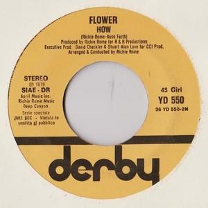 RICCARDO FOGLI  CHE NE SAI - FLOWER  HOW