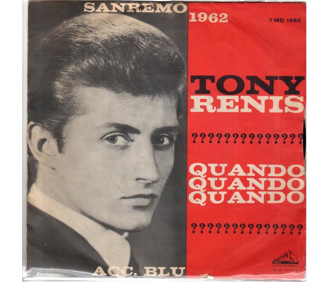 Tony Renis - Quando quando quando   blu