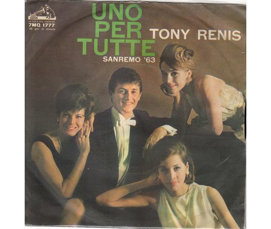 Tony Renis - Uno per tutte  le ciliegie