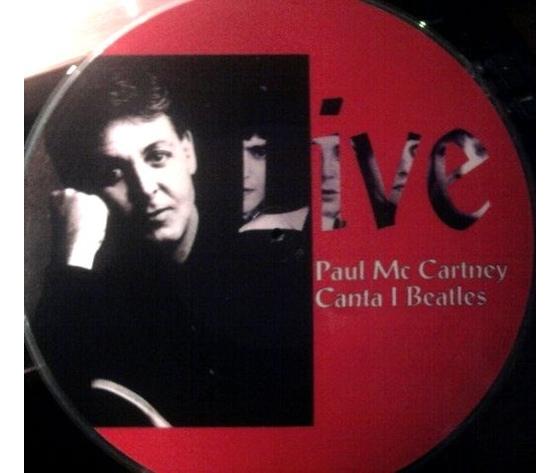 PAUL McCARTNEY  PAUL McCARTNEY CANTA I BEATLES