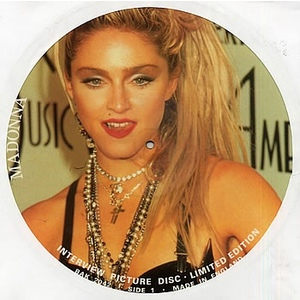 MADONNA  INTERVIEW PICTURE DISC  LIMITED EDITION