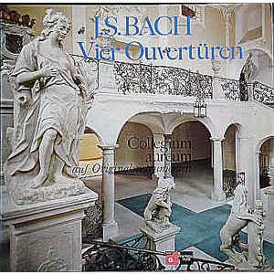 J.S. Bach , Collegium Aureum – Vier Ouvertüren Auf Originalinstrumenten  2lp