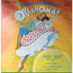 Rogers And Hammerstein  ‎– Oklahoma! (Broadway Cast Album)
