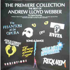 Andrew Lloyd Webber ‎– The Premiere Collection - The Best Of Andrew Lloyd Webber- Various