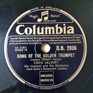 Eddie Calvert ‎– Song Of The Golden Trumpet / Summertime