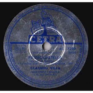 Claudio Villa – Passiggiatella / Malinconico Autunno