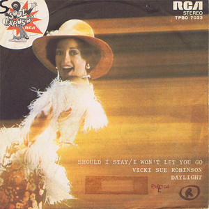 Vicki Sue Robinson ‎– Should I Say / I Won't Let You Go
