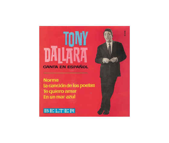 Tony Dallara – Canta En Español