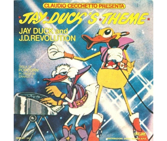 JAY DUKE AND J.D. REVOLUTION  JAY DUCK S  THEME  LIVE - STUDIO