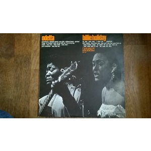 Odetta, Billie Holiday ‎– Odetta Billie Holiday 2lp