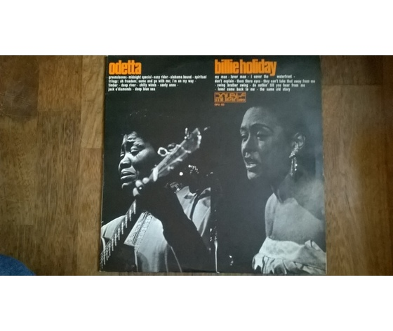 Odetta, Billie Holiday – Odetta Billie Holiday 2lp