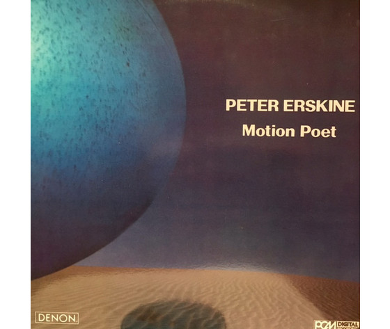 Peter Erskine ‎– Motion Poet