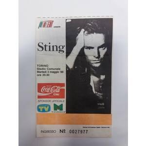 Biglietto Concerto Sting