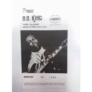 Biglietto Concerto B.B. King