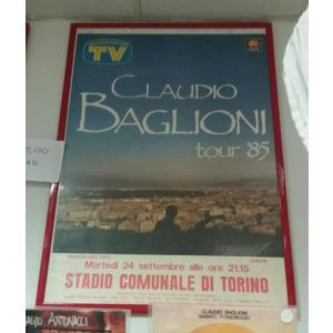 Poster  Claudio Baglioni